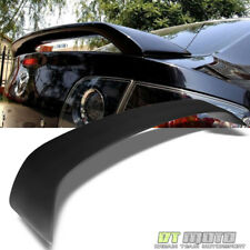 03-09 Mazda 3 Mazda3 4 Door Sedan Rear ABS Trunk Spoiler Wing Primer Matte Black