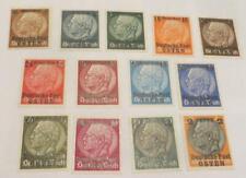 Poland 1939 Deutsche Post Osten overprint set unused