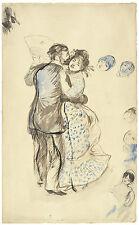 Auguste Renoir Reproductions: La Danse a la Campagne - Fine Art Print