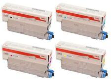 Original OKI Toner Spar-Set 4 Farben BK/C/M/Y für OKI C532/C542/MC573DN