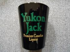 Yukon Jack Premium Canadian Liqueur Shot Glass