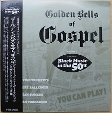 VARIOUS – GOLDEN BELLS OF GOSPEL VOLUME 2 – JAPAN LP (P-VINE, 1982)  NM