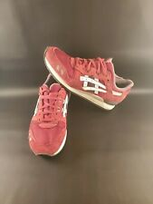 Asics Tiger Gel-Lyte III Men's Suede Burgundy/White Running Shoes Size 9