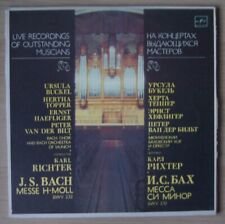 KARL RICHTER IN MOSCOW 1968 BACH Mass B minor MELODIYA 3LP C10 21329