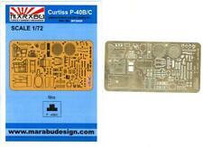 Marabu Models 1/72 CURTISS P-40B/C WARHAWK Photo Etch Detail Set