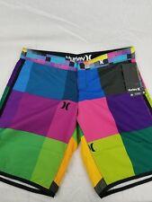 6d518dbfc114 NEW Ladies Junior Hurley Board Shorts SIZE 1 #GB02SSBR9 Multi- Color