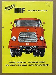 1959 DAF Commercial Vehicles original Dutch sales brochure