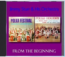 MZ 168 - Jimmy Sturr & His Orchestra - From The Beginning - POLKA CD