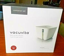 Vacuvita 1 Gallon Storage Container White New
