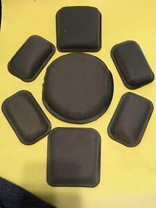 LOT of 100 US Army Issued Replacement Helmet Pad Set for ACH & MICH Helmet