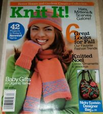SP051 KNIT IT! BETTER HOMES & GARDENS MAGAZINE, FALL 2006