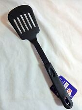 Cooking Utensil SLOTTED SPATULA Black Plastic RiPac 62004 New