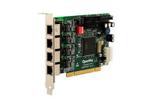 OpenVox B400P 4 Port ISDN BRI PCI card - Ethernet (RJ-45)