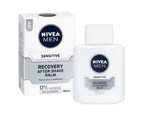 Nivea After Shave Balm Men Sensitive Recovery Reduces Redness Hydrating 100 ml