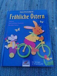 Fröhliche Ostern. Papier Servietten-Technik Window Color Bastelbuch