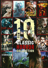 10 Film Classic Horror Collection (DVD, 2013, 2-Disc Set) * NEW *