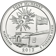 2013 FORT MCHENRY NATIONAL MONUMENT QUARTER SET P+D+S- STRAIGHT FROM THE MINT!!!