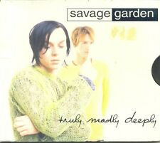 SAVAGE GARDEN Truly Madly Deeply AUST 3Trk CD Single