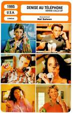 DENISE AU TELEPHONE - Daly,Feeney,Salwen (Fiche Cinéma) 1995 - Denise Calls Up