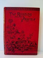 1870 1st EDITION JOHNSTONE'S FARM THE BURNING PRAIRIE HC S.B.C. SAMUELS BOOK