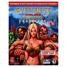 New Everquest Online Adventures Frontiers Strategy Guide Ps2 Playstation 2