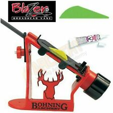 Blazer Fletching Jig 36 Green Vanes Glue Archery Arrow
