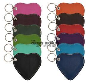 Heart Shape Key Chain Genuine lambskin soft Key Ring Key Finder Key Holder