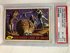 1962 Mars Attacks psa 6.5