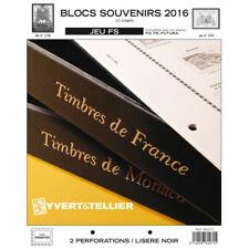 Jeux FS France blocs souvenirs 2016 sans pochettes.