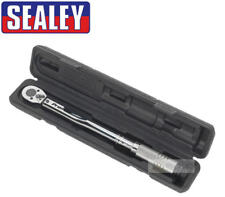 """SEALEY AK224P 1/2"""" Sq.Drive Micrometer Reversible Ratchet Torque Wrench 42-210Nm"""