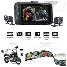 "Motorcycle Bike 140° Wide Angle 3"" HD LCD Camera Video DVR Recorder Night Vision"