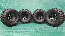 Brand New IMEX K-Rock Tires + Eagle (Black) Rims Combo (14 & 17mm Hex)