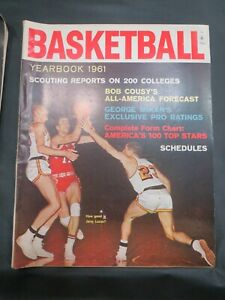 VINTAGE 1961 BASKETBALL YEARBOOK NBA JERRY LUCAS