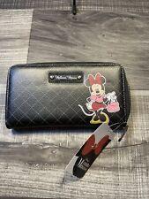NEW!! DISNEY Minnie Mouse Zip Around Wallet