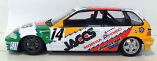 Coche de carreras de automodelismo y aeromodelismo Honda de resina