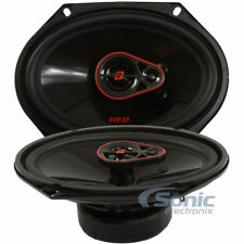 "Cerwin-Vega H7683 720W Max 6"" x 8"" HED Series 3-Way Coaxial Car Stereo Speakers"