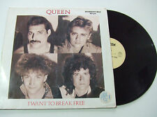 "Queen ‎– I Want To Break Free - Disco Mix 12"" 45 Giri Vinile 1984 Pop / Rock"