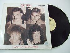"""Queen – I Want To Break Free - Disco Mix 12"""" 45 Giri Vinile 1984 Pop / Rock"""