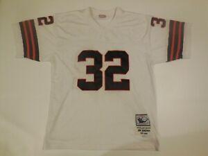 Cleveland Browns Jim Brown Mitchell Ness Throwback 1957-66 Jersey sz 54