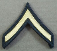 """US Army Private E-2 Small Sleeve Rank Insignia  / ME Pair 2 5/8"""" Wide"""