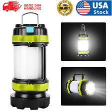 USA USB LED lantern rechargeable Light Camping Emergency Outdoor Hiking Lamps
