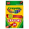 (12 Pack) NEW Crayola Peggable 24 Count Crayons