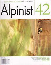 Mountaineering: Climbing, Alpinist Magazine #42 - Brand New, Unread