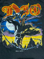 DIO Vintage 1984 Tour T-shirt Sleeveless Black Sabbath Rainbow Iron Maiden