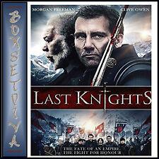 THE LAST KNIGHTS -  Morgan Freeman  *BRAND NEW  BLU-RAY***