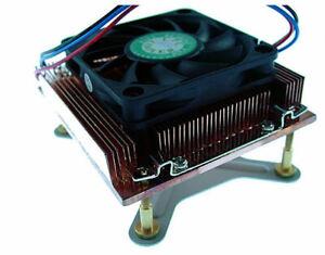 EverCool CUW3-610 Socket 478 Low Profile Copper Heatsink for 1U Server