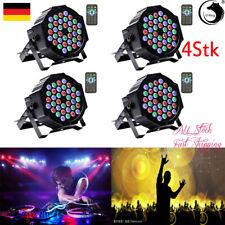 4X 36LED DMX PAR Bühnenbeleuchtung RGBW Bühnenlicht Effekt KTV Party Disco Licht