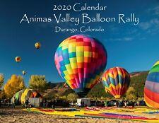 2020 Hot Air Balloon Calendar Animas Valley Balloon Rally Durango Colorado