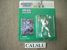 1996 TROY AIKMAN DALLAS COWBOYS ☆HALL OF FAME☆ STARTING LINEUP FIGURE & CARD