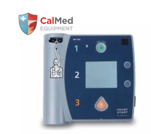 Philips HeartStart FR2+ AED Defibrillator 4 YR WRNTY-New Pads & Battery-NO CASE